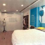 Descripción de la imagen: Dormitorio de la casa accesible