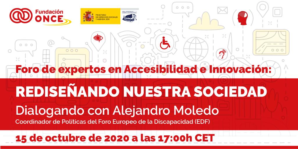 Rediseñando nuestra sociedad con Alejandro Moledo