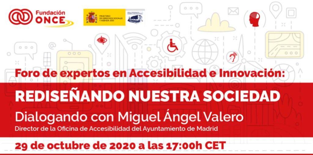 Rediseñando nuestra sociedad: Dialogando con Miguel Ángel Valero